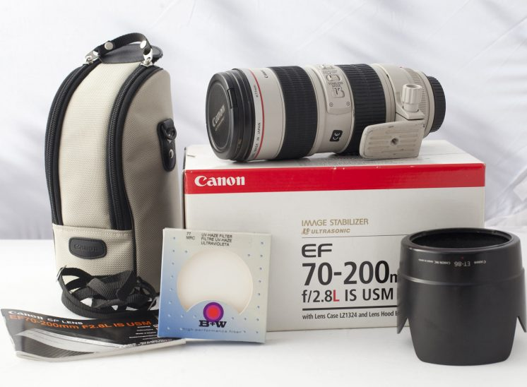 Canon EF 70-200 IS USM f/2.8L